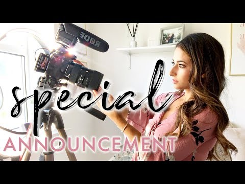 HOW I BECAME A R + 100K SPECIAL  ANNOUNCEMENT  Ysis Lorenna