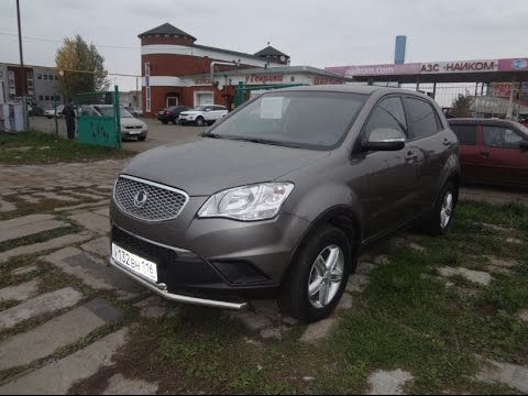 Обзор SsangYong Actyon 2012
