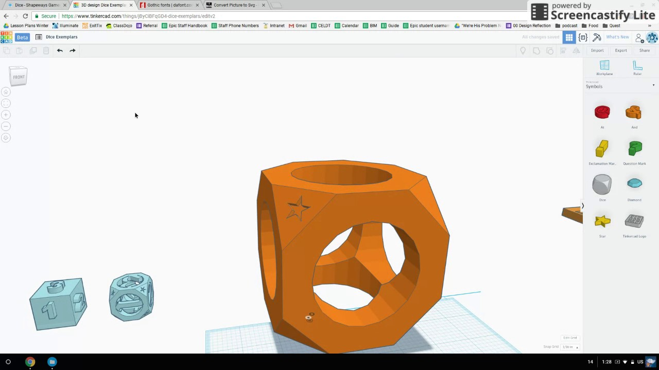how to create charizard on tinkercad