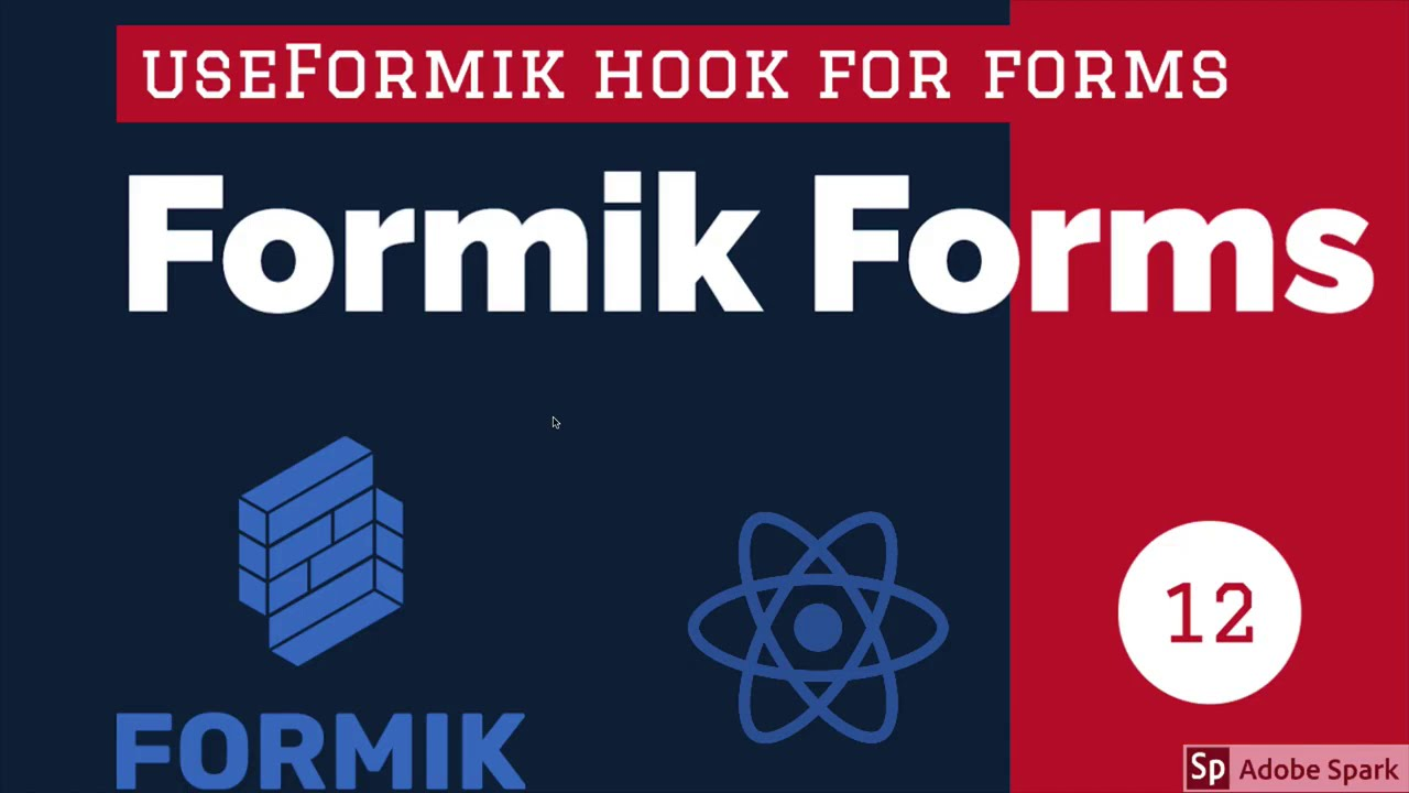 React Formik YouTube Form using useFormik Hook #14