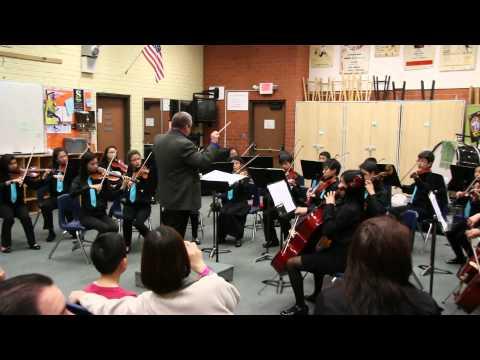 San Gabriel Christian School Senior Strings - SCSBOA Performance Feedback