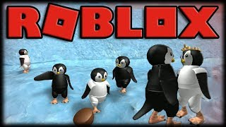 Playing Roblox-the suffering, Brutal and absurd life of penguins!!