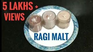 Weight Loss Breakfast with Ragi Malt  |  Finger Millet Malt || 3 Types of Ragi Malt