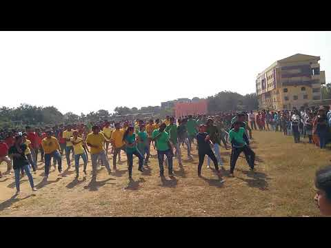 St.Martins Engineering College ||Shukan Management Fest 2k17|| Flash Mob