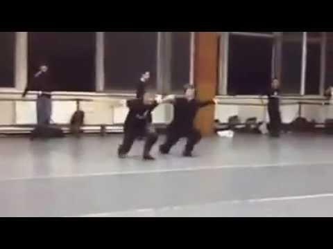 """Georgian Dance Rehearsal - """" Sukhishvili"""""""