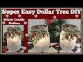 Winter Candle Holder❄ Easy Dollar Tree❄ DIY Sparkling