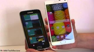Samsung Galaxy Note 4 vs. Samsung Galaxy S5 Comparison Smackdown