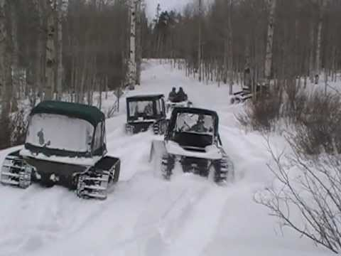 Argo 8x8s With Snow Tracks Riding In Wyoming Youtube