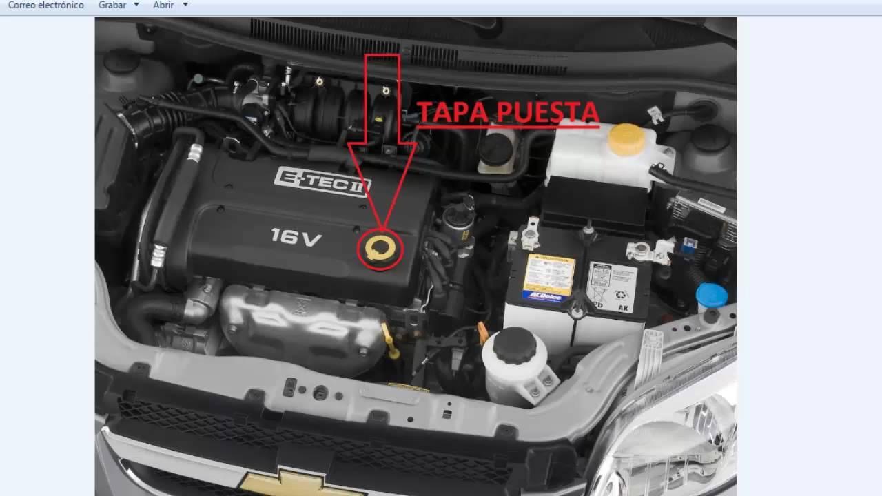 Chevrolet Aveo Ruido Motor Youtube