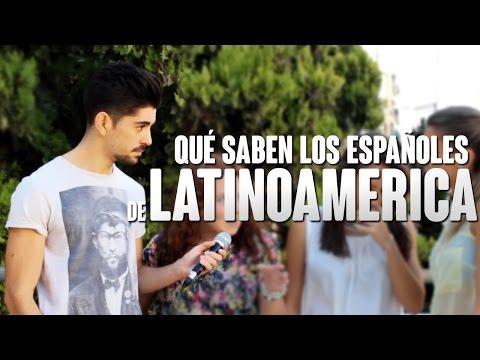 ESPAÑOLES Y LATINOAMÉRICA | Preguntando a jóvenes