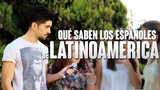 ESPAÑOLES Y LATINOAMÉRICA | Preguntando a jóvenes thumbnail