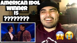 Reacting to American Idol Winner Announcement. My real honest Opinion