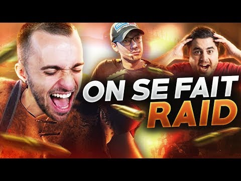 ON SE FAIT RAID !  (Rust ft. Locklear, Doigby, Packam)