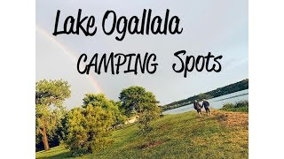 LAKE OGALLALA 2018 State Park Nebraska Camping Campground Photos Spots by Lake McConaughy Nebraska