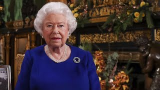 WATCH AT 3: Britain's Queen Elizabeth II gives coronavirus speech