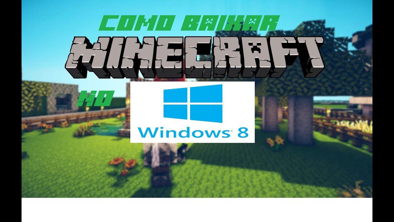 Майнкрафт на windows 8.1