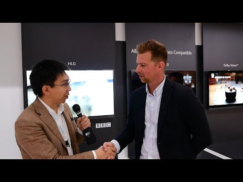 "LG IFA 2017 Interview: 77"" Wallpaper OLED TV, Technicolor Mode, HDR10+"
