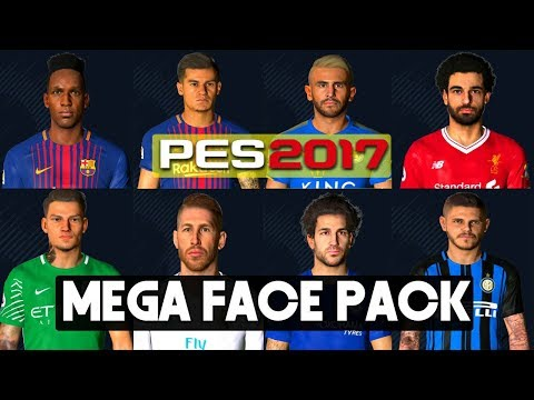 PES 2017 | Faces Update  With Tatoo By PC PROFESSIONAL (Download + Install) Mp3