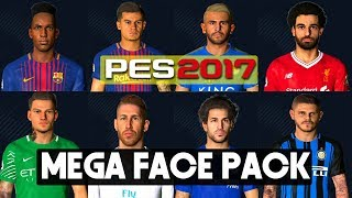 PES 2017 | Faces Update  With Tatoo By PC PROFESSIONAL (Download + Install)