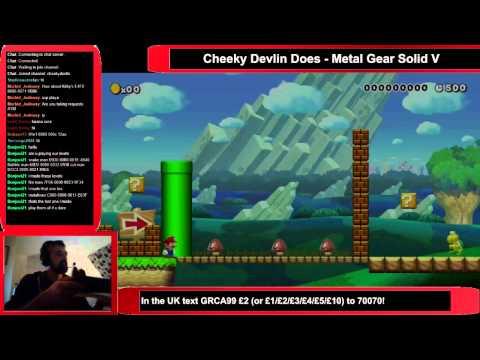 Cheeky Devlin Does Super Mario Maker - 26/09/2015