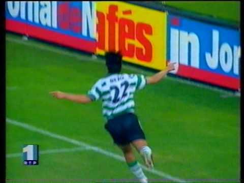 04J :: Sporting - 3 x Campomaiorense - 0 de 1998/1999