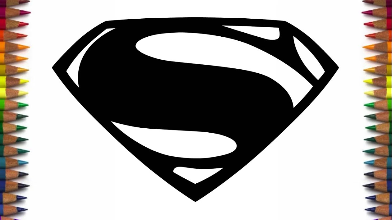 How to draw new Batman and Superman logos from Batman v Superman