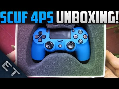 SCUF 4PS Smurf Controller Unboxing! (PS4 Scuf Unboxing)