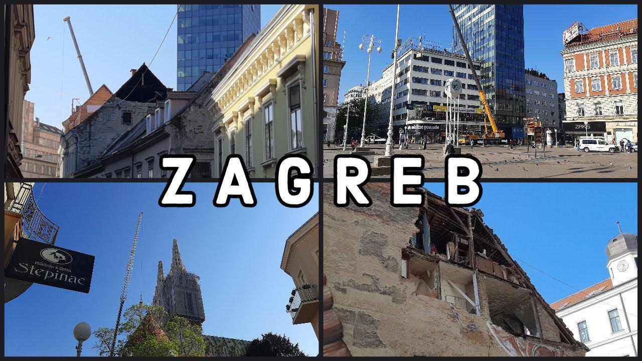 Slideshow Zagreb After Earthquake 27 4 2020 Youtube