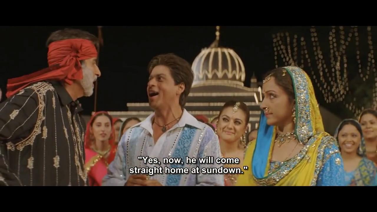 """English, Spanish and Hindi Subs """"Lodi"""" Veer-Zaara Official ..."""