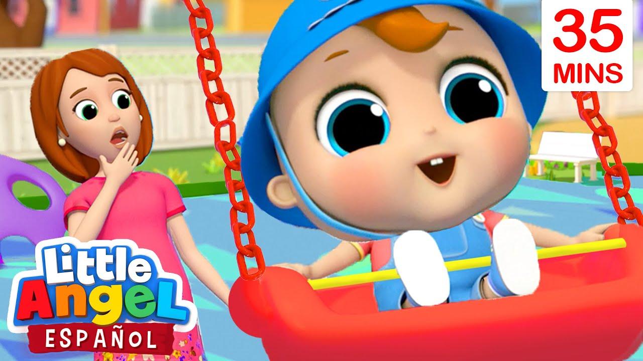 Me Gusta el Columpio del Parque Infantil   Canciones Infantiles De Bebé Juan   Little Angel Español