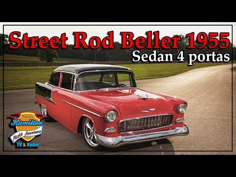 Street Rod Beller 1955 Sedan 4 portas