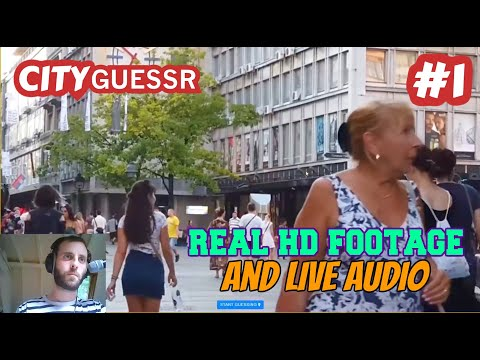 CITY GUESSER - Geoguessr but with Video & Audio (#1 - Europe)