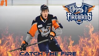 EPISODE 1. FRANCHISE HOCKEY MANAGER 3! CATCH THE FIRE WITH THE FLINT FIREBIRDS!