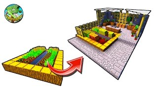 How to Transform a Minecraft Village Farm