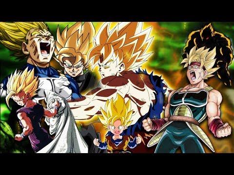 Die Geschichte der 1.Super Saiyajin Transformationen in Dragonball