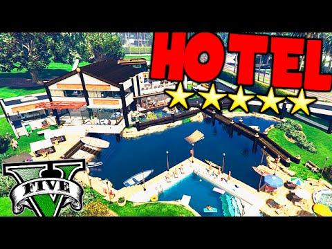 GTA V MOD SUPER HOTEL VIP EN EL CLUB DE GOLF EN GTA 5 MODS PC Makiman