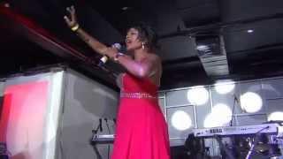 Wuk Up D Larki (live) - Drupatee Ramgoonai @ Jingle Jam 2014 filmed by jonfromqueens