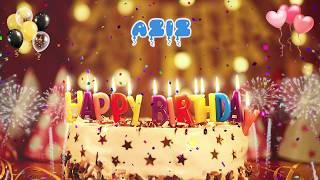 AZİZ Happy Birthday Song – Happy Birthday Aziz – Happy birthday to you