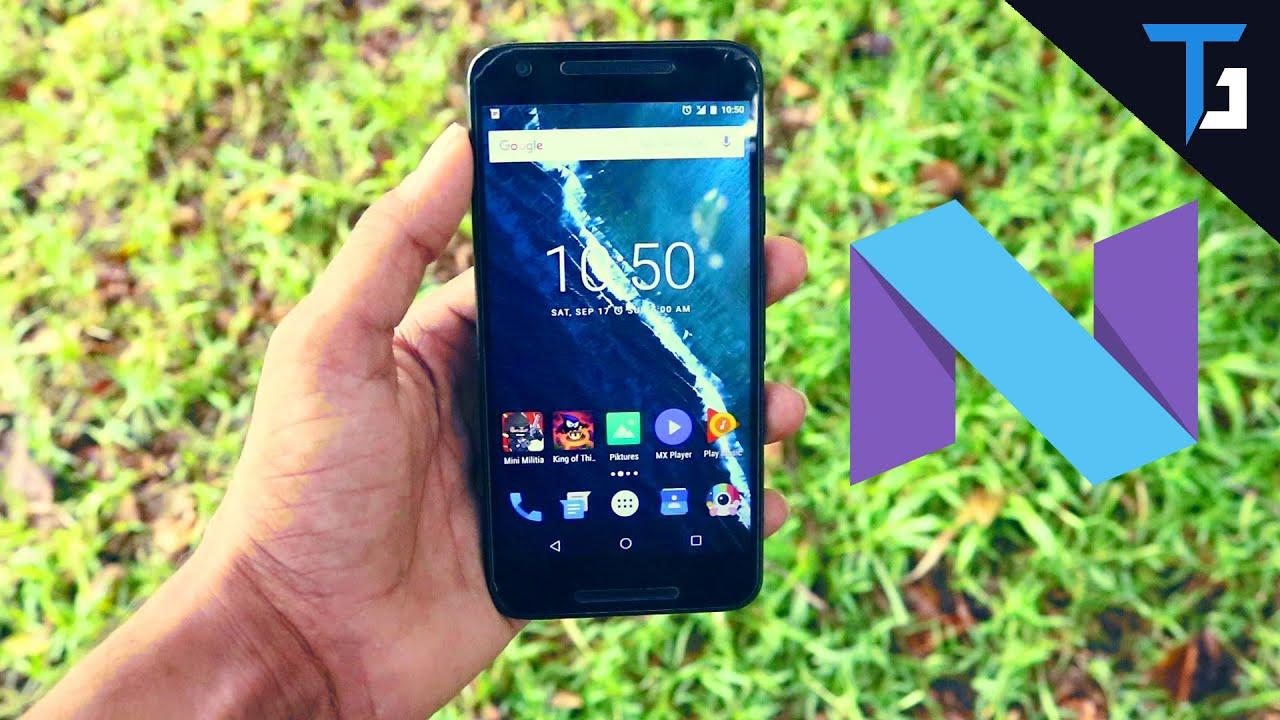 Nexus 5x Android N