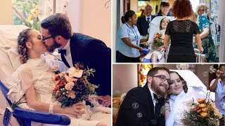 A Mom Married in Her Hospital Bed While Hooked to Life Support, and the Tragic Scene Touched Hearts