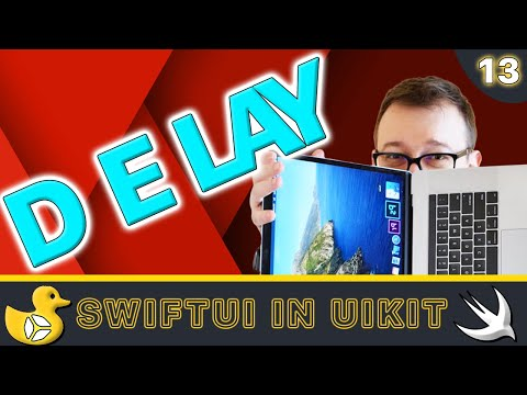 SwiftUI in UIKit - Delay with DispatchQueue | Swift 5, Xcode 10 thumbnail