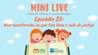 MINI LIVE IPNONLINE Episódio 23: Bem Aventurados (Lic. Davi Medeiros) - 23/06/2020