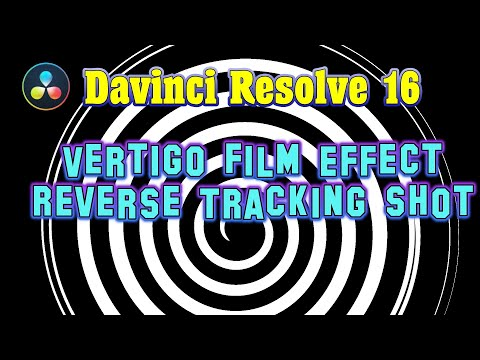 Davinci Resolve Vertigo Film Effect - Reverse Tracking Shot