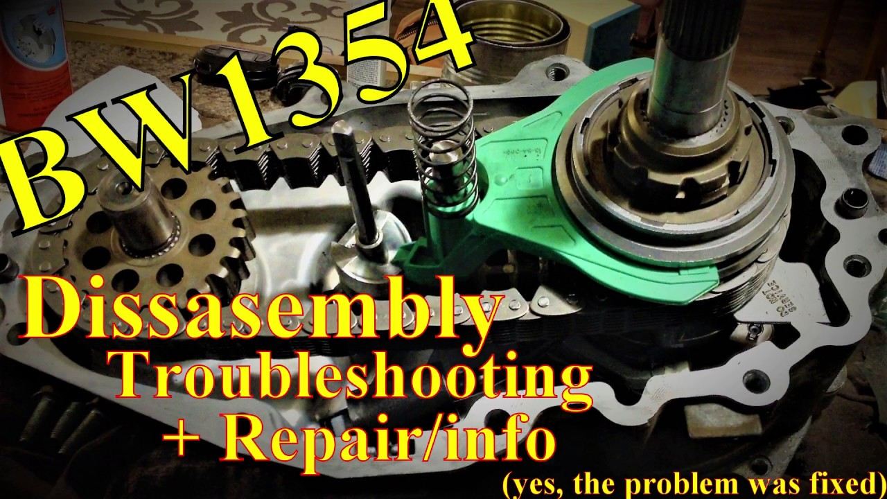 BW1354 Transfer Case Disassembly and Troubleshooting