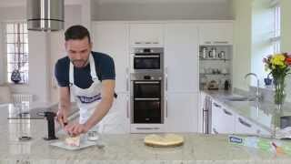 Dean Edwards Bakes A Baked Rhubarb Brulee Cheesecake With Bacofoil Easy Bake Non-stick Baking Paper