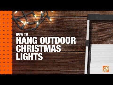 How to Hang Christmas Lights: Christmas Light Installation | The Home Depot