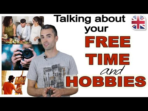 How to Talk About Your Free Time and Hobbies in English - Spoken English Lesson