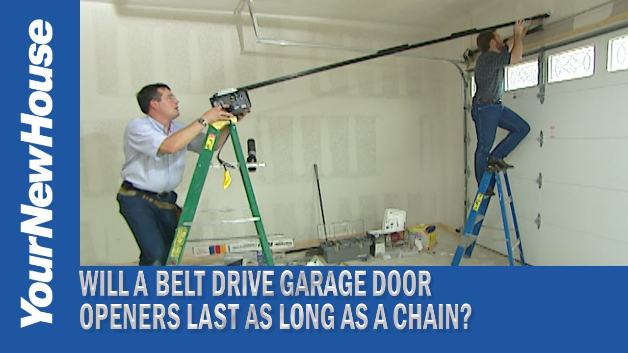 Info You Need Belt Driven Garage Door Openers Youtube