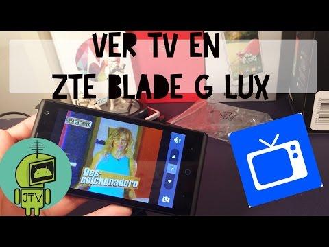 Ver Televisión desde el ZTE Blade G Lux
