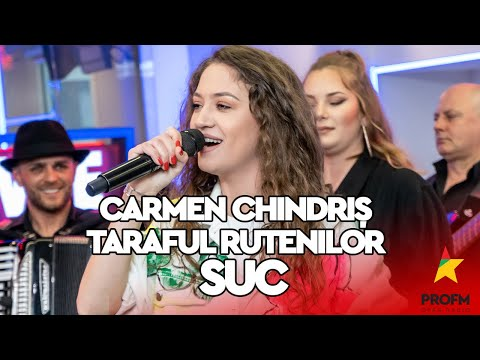 Carmen Chindriș și Taraful Rutenilor - SUC | PROFM LIVE Session